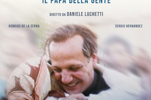 "Poster for the movie ""Chiamatemi Francesco - Il Papa della gente"""