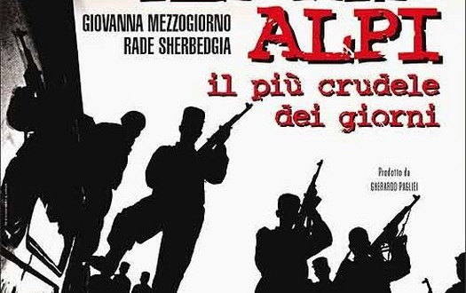 """Poster del film """"Ilaria Alpi - Il più crudele dei giorni"""""""