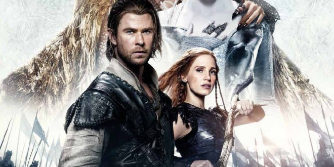 """Poster del film """"Il cacciatore e la regina di ghiaccio"""""""