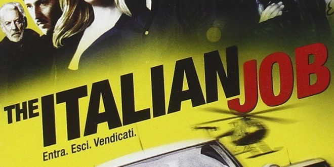 "Poster del film ""The Italian Job"""