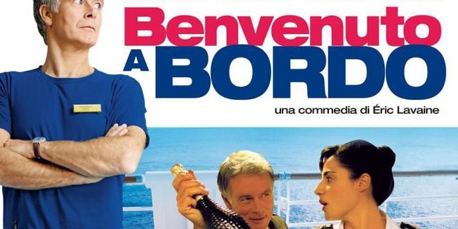 """Poster for the movie """"Benvenuto a bordo"""""""