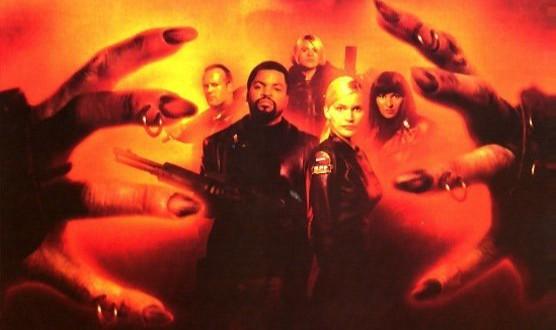 "Poster del film ""Fantasmi da Marte"""