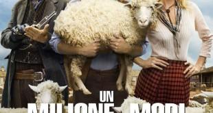 """Poster del film """"Un milione di modi per morire nel West"""""""