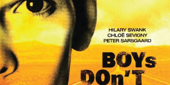"Poster for the movie ""Boys Don't Cry"""