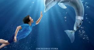 """Poster del film """"L'incredibile storia di Winter il delfino"""""""