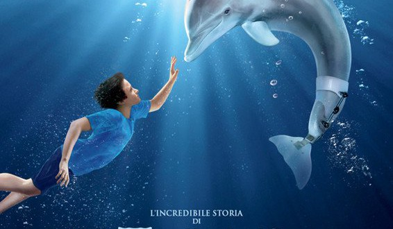 "Poster del film ""L'incredibile storia di Winter il delfino"""