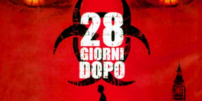 "Poster for the movie ""28 giorni dopo"""