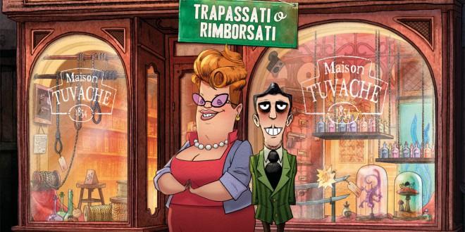 """Poster del film """"La bottega dei suicidi"""""""