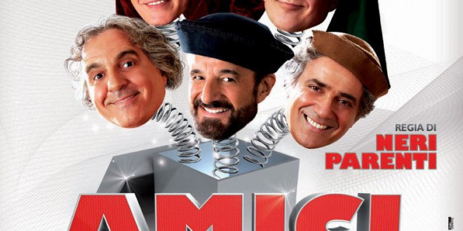 "Poster for the movie ""Amici miei - Come tutto ebbe inizio"""