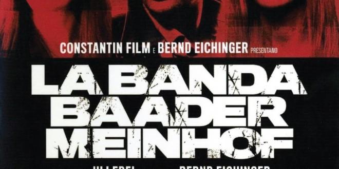 "Poster del film ""La banda Baader Meinhof"""