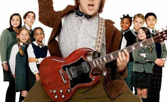 "Poster del film ""School of Rock"""