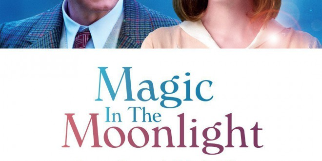 "Poster del film ""Magic in the Moonlight"""