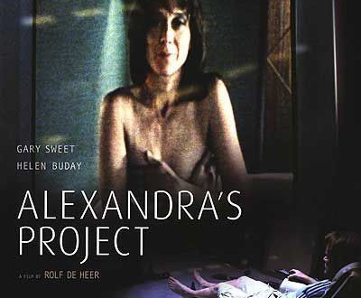 "Poster for the movie ""Alexandra's Project"""