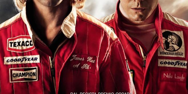 "Poster del film ""Rush"""