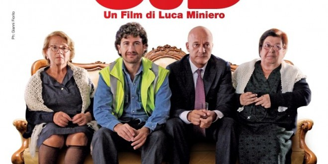 "Poster for the movie ""Benvenuti al sud"""