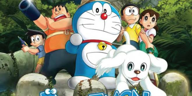 """Poster del film """"Doraemon - Le avventure di Nobita e dei cinque esploratori"""""""