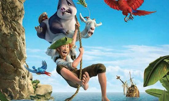 """Poster del film """"Robinson Crusoe"""""""