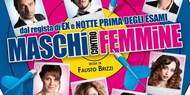 "Poster del film ""Maschi contro femmine"""