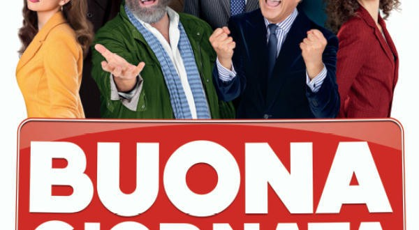 "Poster for the movie ""Buona giornata"""