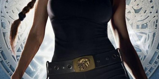 "Poster del film ""Lara Croft: Tomb Raider"""