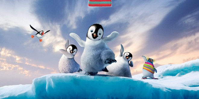 "Poster del film ""Happy Feet 2"""