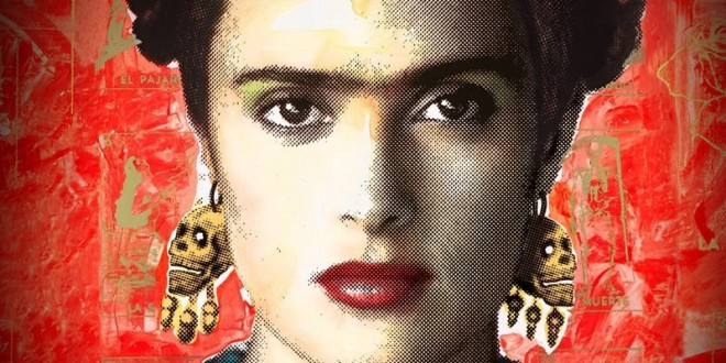 "Poster del film ""Frida"""