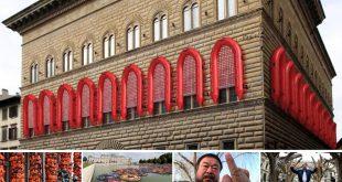 """L'artista Weiwei provoca Firenze. E """"Il Foglio"""" abbocca"""