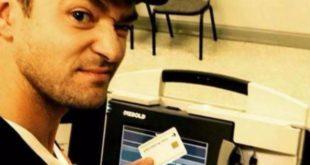 Justin Timberlake. Rischia il carcere per il selfie al seggio; ma non sarà indagato