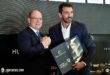 Gigi Buffon premiato da Alberto di Monaco per il Golden Foot 2016