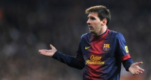 Leo Messi, record e lite in City-Barcellona 3-1