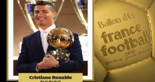 Cristiano Ronaldo Pallone d'oro 2016