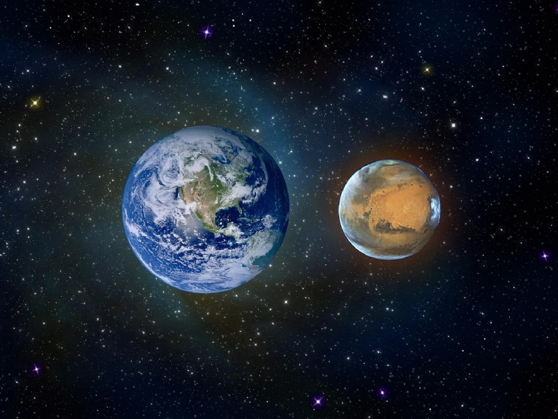 Marte vicinissimo alla Terra. Ma non sarà grande come la Luna