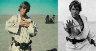 "Star Wars. Mark Hamill condivide scatto inedito. ""Forse il primo scatto in assoluto"""