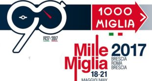 Mille Miglia 2017. Partita la seconda tappa Padova-Roma