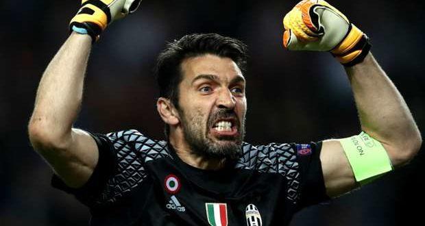 Gigi Buffon protagonista in Monaco-Juventus 0-2