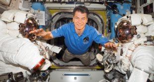 """Primo collegamento dalla stazione spaziale per Nespoli: """"Contiamo di fare fuochi d'artificio!"""""""