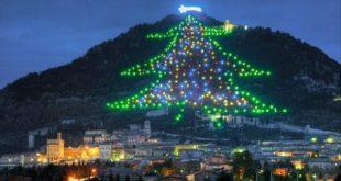 In diretta dallo spazio l'albero di Natale più grande del mondo
