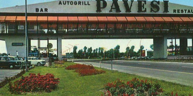 Autogrill Fiorenzuola 1959 Pavesi