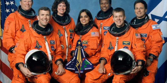 L'equipaggio dello shuttle (NASA photo)