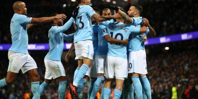 Manchester City campione d'Inghilterra 2017-2018