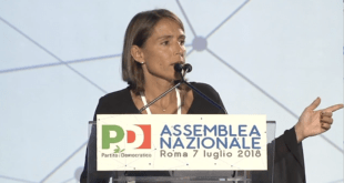 Katia Tarasconi Assemblea nazionale PD