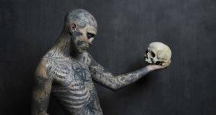 Morto suicida Zombie Boy a soli 32 anni