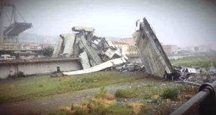 Genova. Video in diretta dal luogo della tragedia. 35 vittime accertate