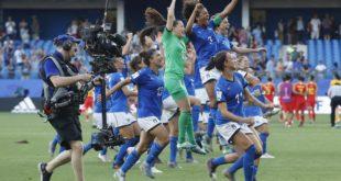 Mondiali Femminili. Italia ai quarti, affronterà l'Olanda