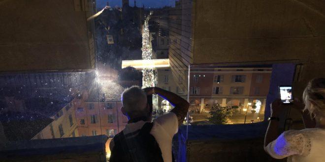 Venerdì Piacentini dalla Cupola del Duomo