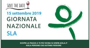Domenica 15 settembre. AISLA in 150 piazze italiane per la Giornata Nazionale sulla SLA