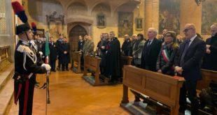 Giovedì 21 novembre. I carabinieri celebrano la Virgo Fidelis