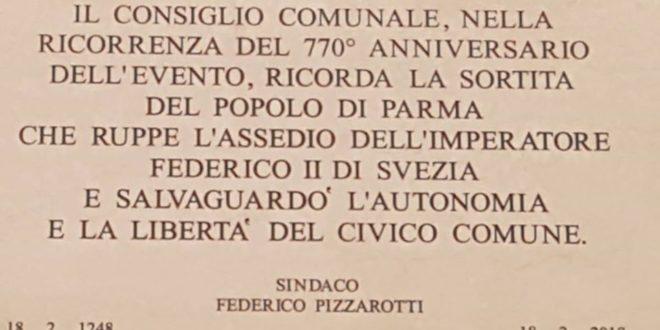 Parma Federico Svezia