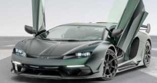 Lamborghini Aventador SVJ Cabrera. Il mostro di Mansory