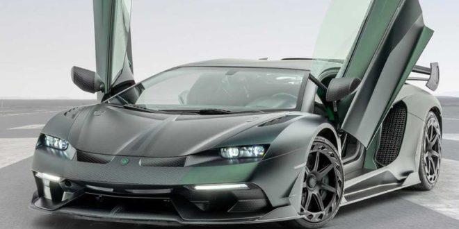 Lamborghini Aventador Cabrera Mansory